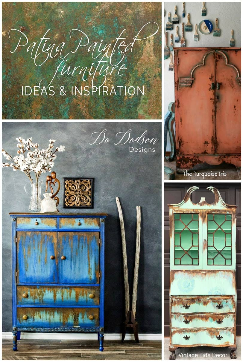 Patina Painted Furniture Roundup - Salvaged Inspirations