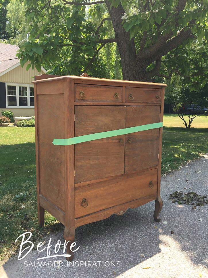 Salvaged Dresser - Fathers Day