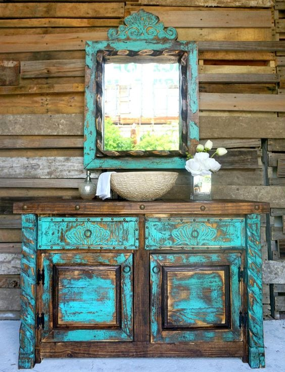 Sophia's Rustic Furniture - Bathroom Vanity