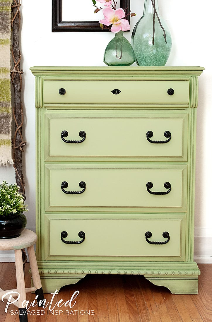 DB Farmhouse Green Dresser