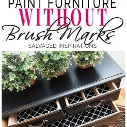 Paint Furniture WITHOUT Brush Strokes