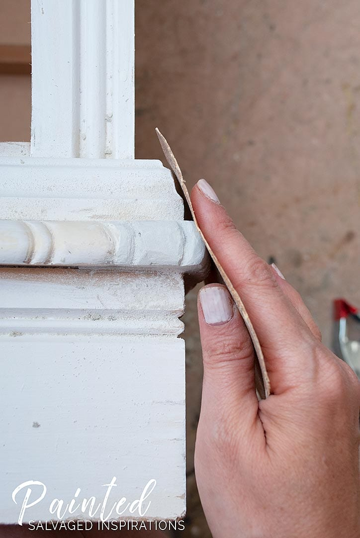 Repairing Furniture Trim W Bondo