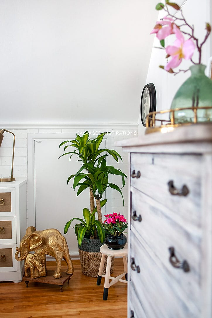 SI Blog - Salvaged Bedroom Reveal w Painted Furniture