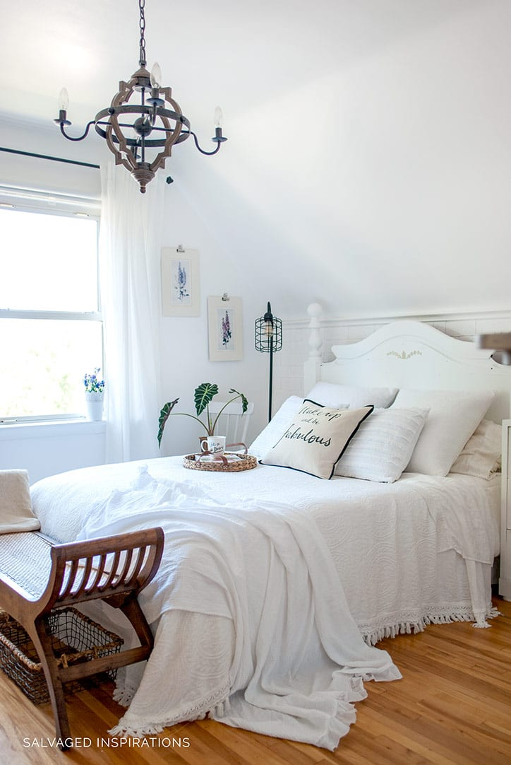 Salvaged Bedroom Makeover by Salvaged Inspirations