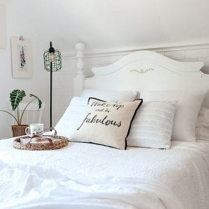 Salvaged Bedroom Makeover Reveal