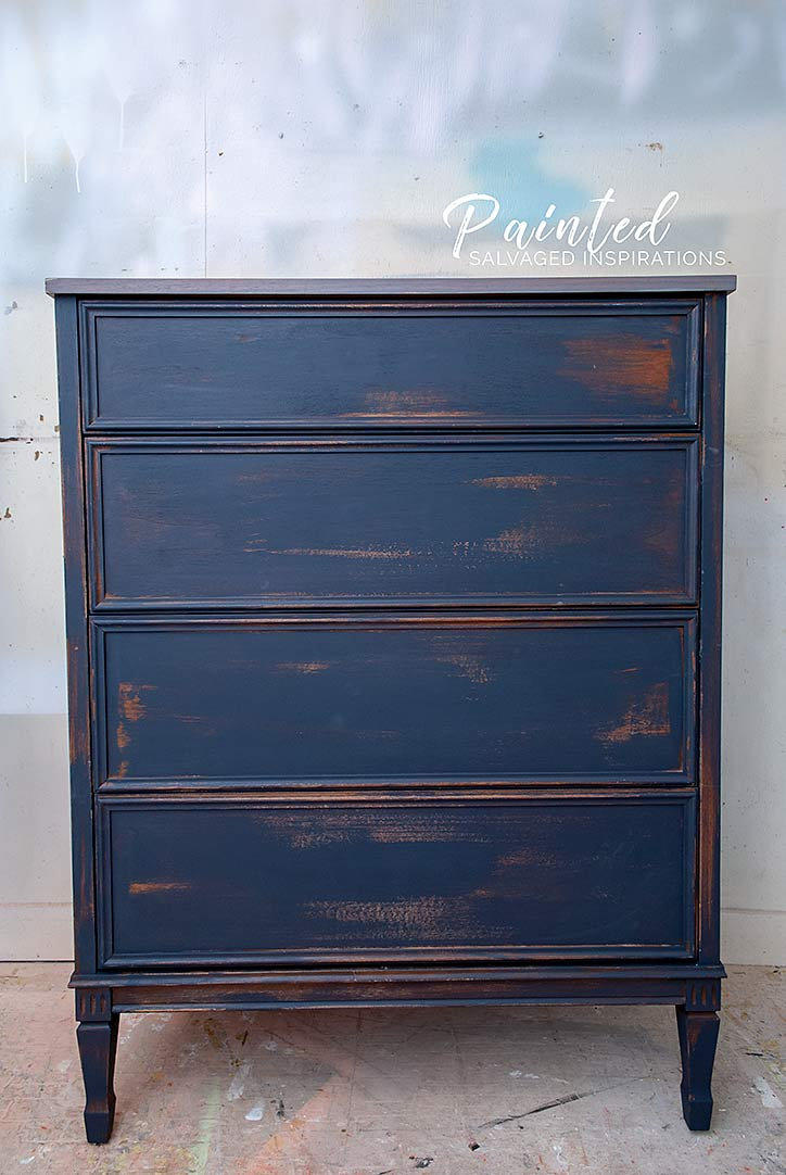 Dixie Belle's In The Navy Paint Color - Salvaged Inspirations