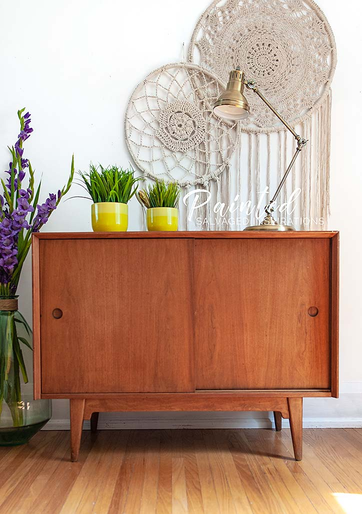 Mid Century Modern Buffet - Salvaged Inspirations