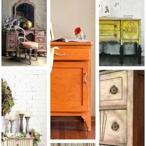 Best Fall Inspired Furniture Makeovers SI Blog