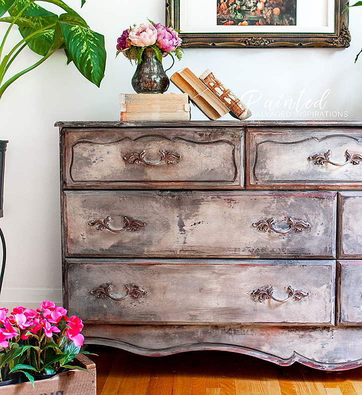 Create An Old World Finish - French Provincial Makeover