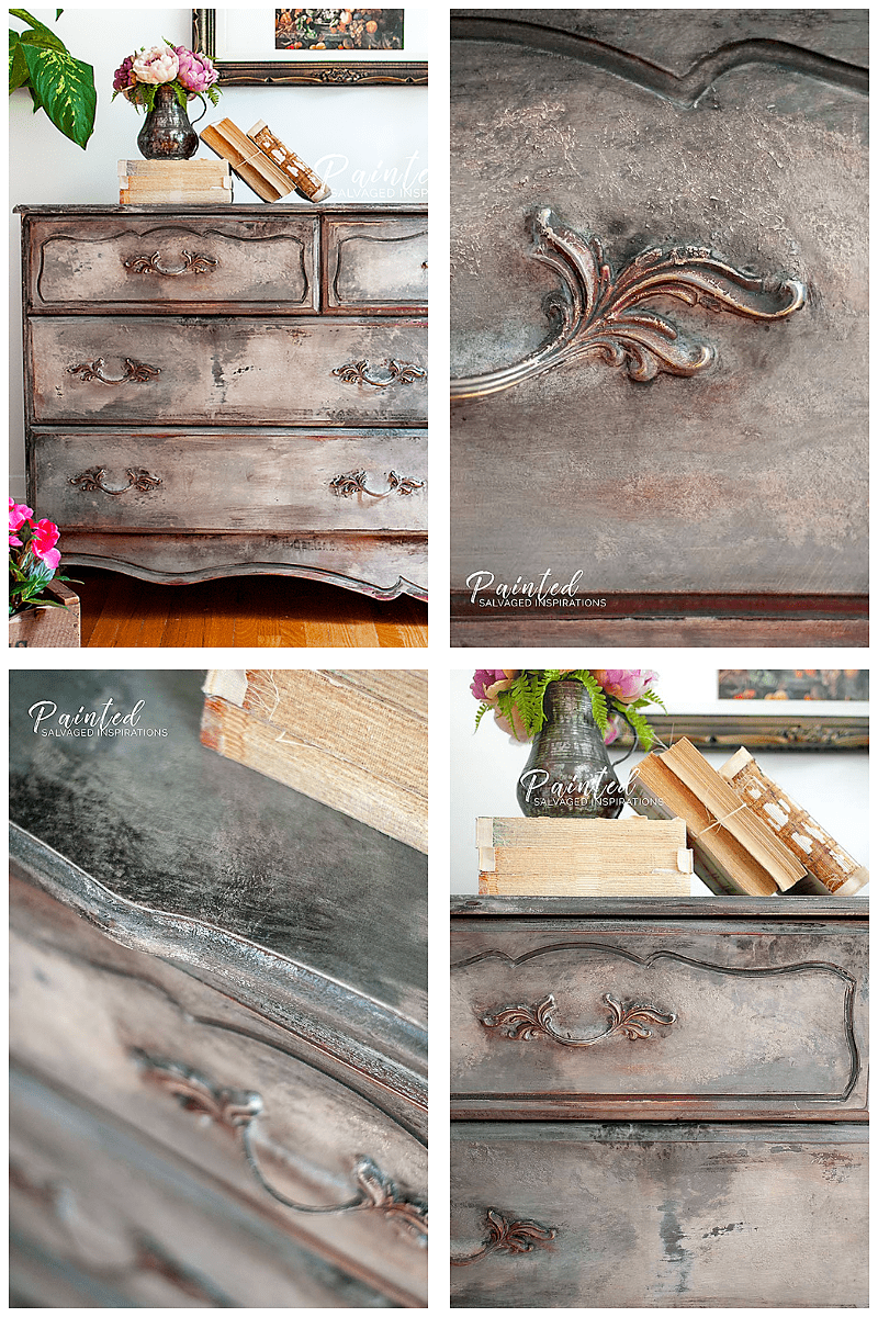 French Provincial Old World Finish Makeover