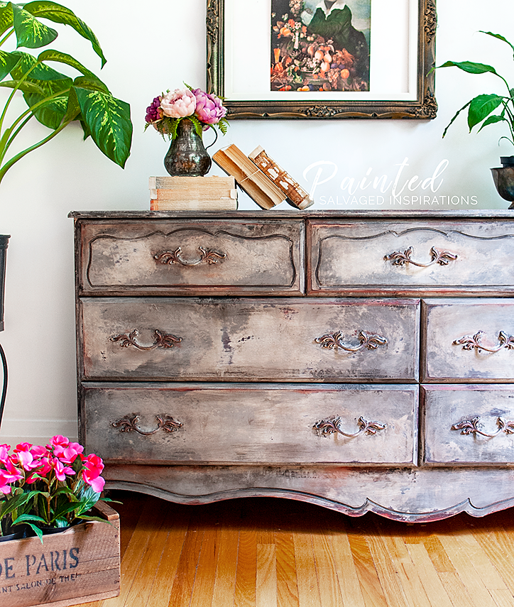 How To Create An Old World Finish - French Provincial Makeover