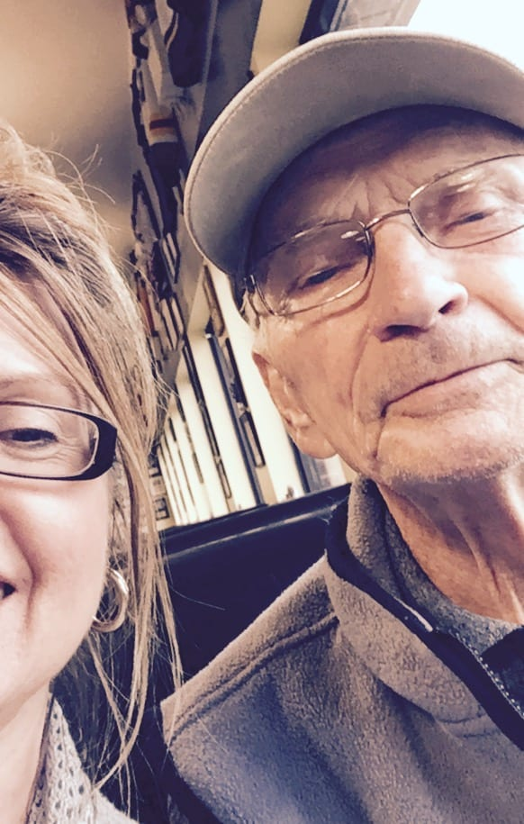 Our Last Selfie - Dad and Me