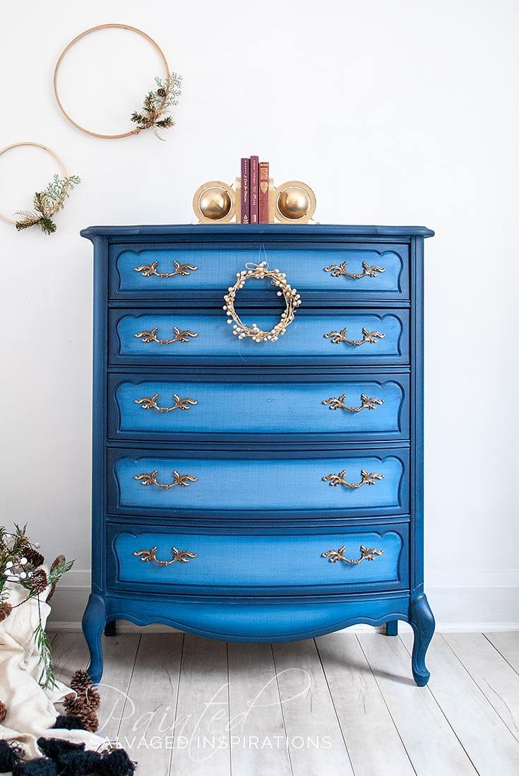 Dixie Belle Paint Blueberry FP Dresser