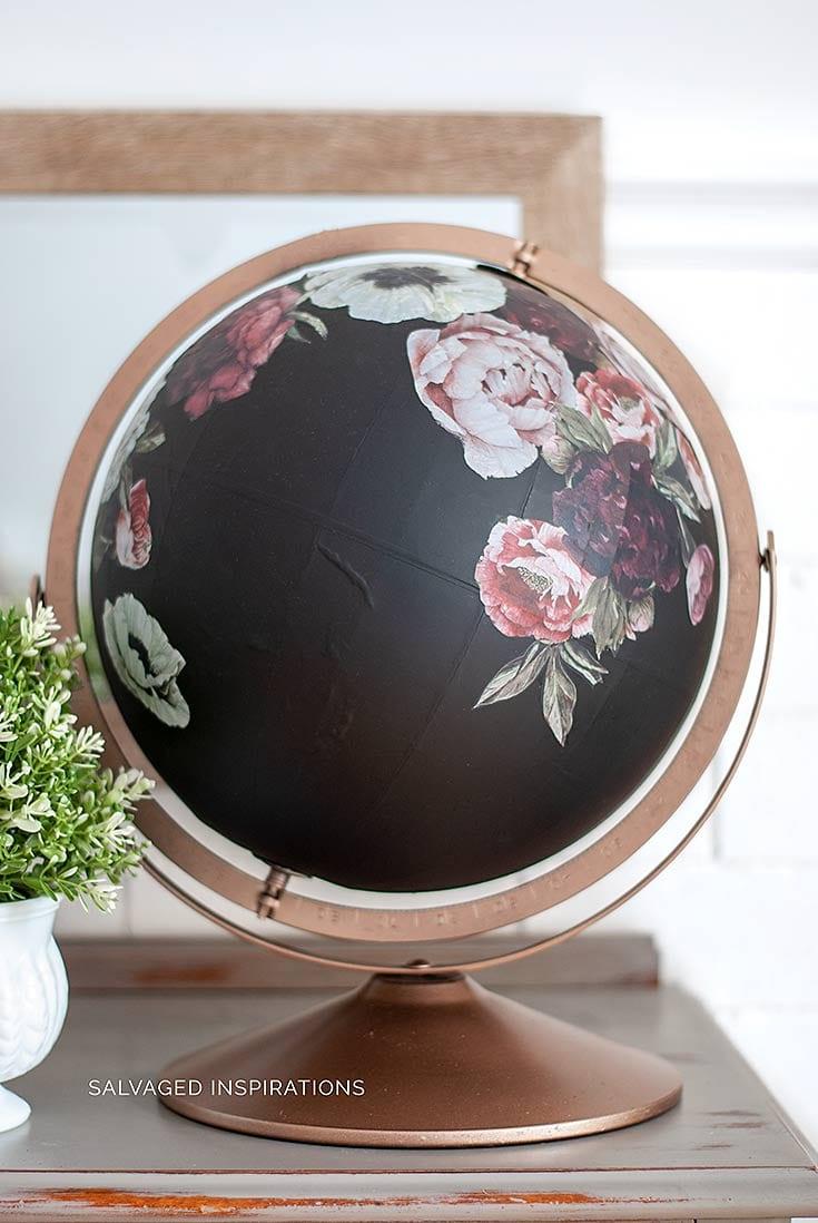 Floral Globe w ReDesign w Prima Transfers