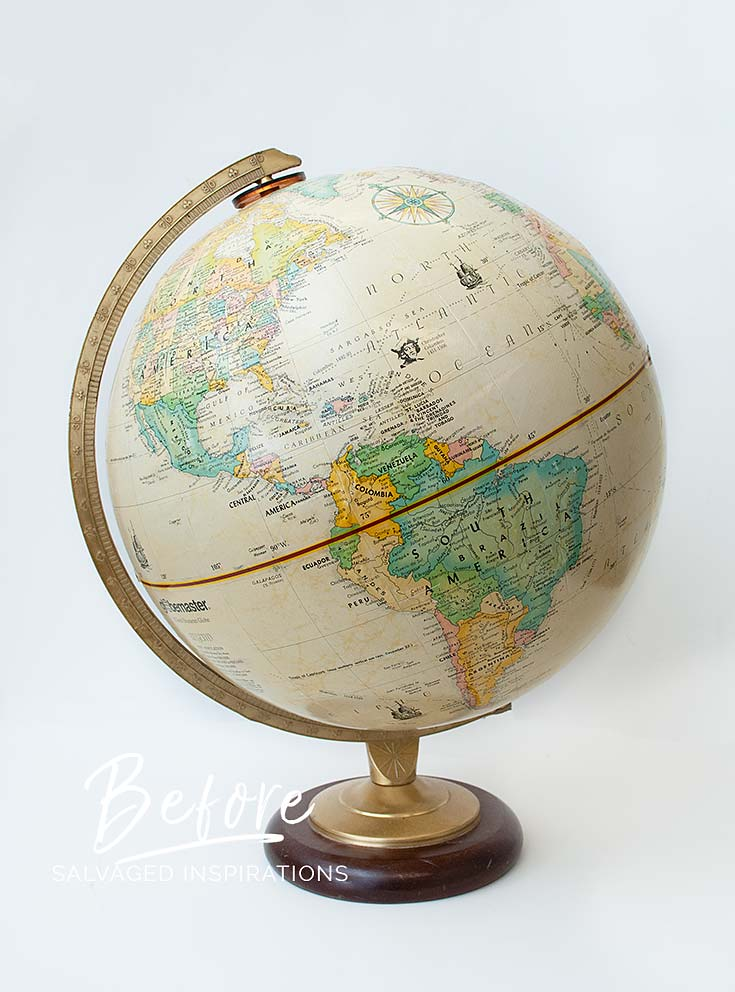 World Globe - Before txt