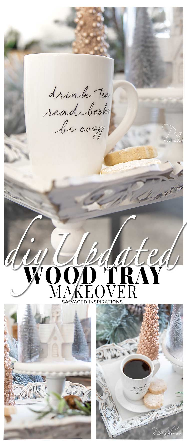 DIY Updated Wood Tray SIBlog
