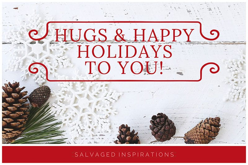 Hugs and Happy Holidays