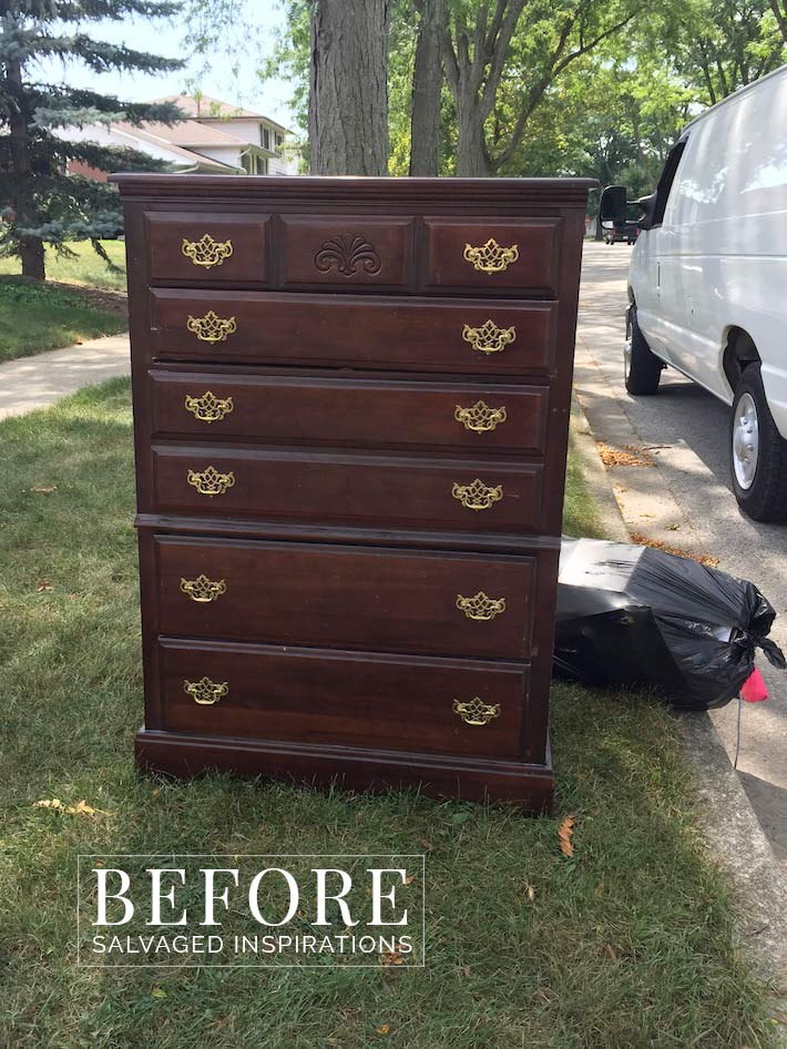 Curb Shopped Dresser on Tait