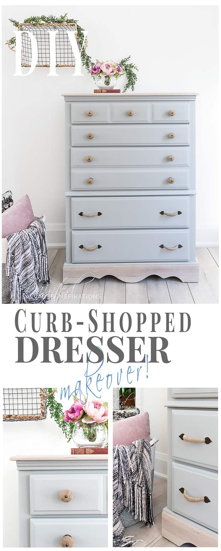 DIY CurbShopped Dresser Makeover_