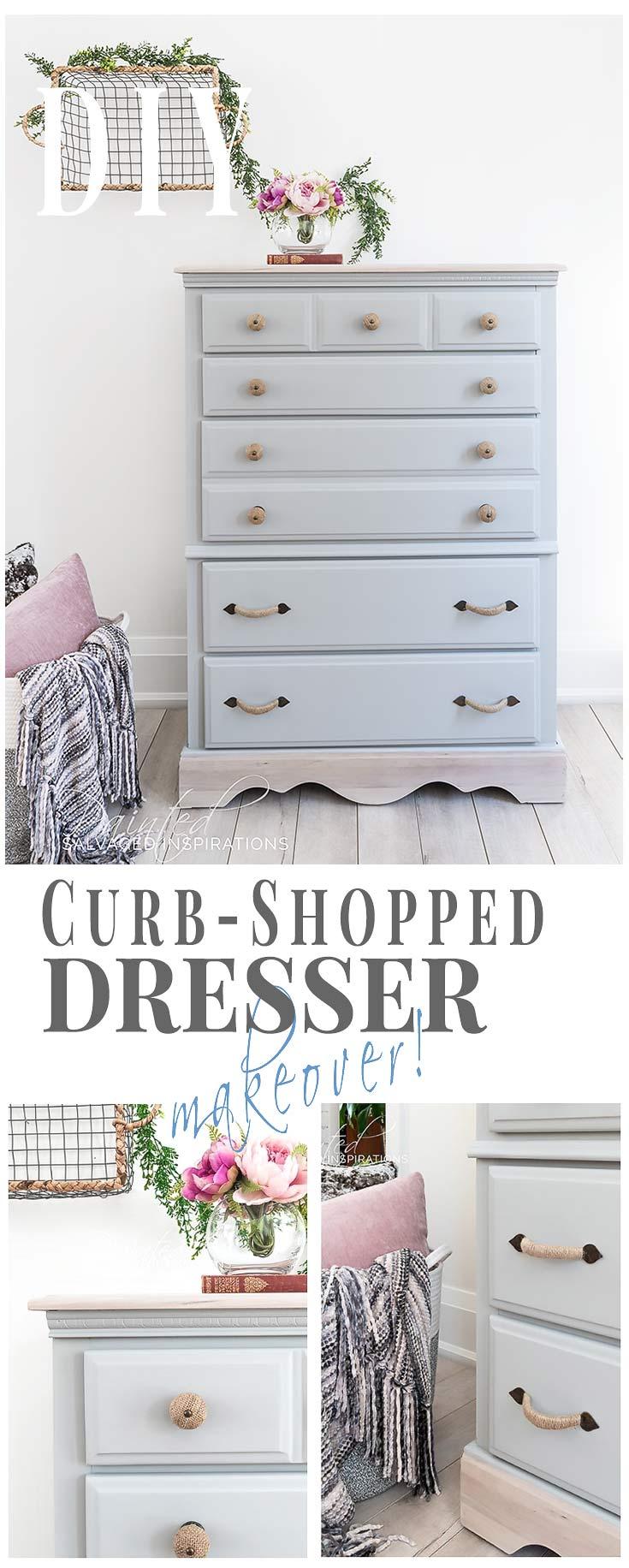 DIY CurbShopped Dresser Makeover_
