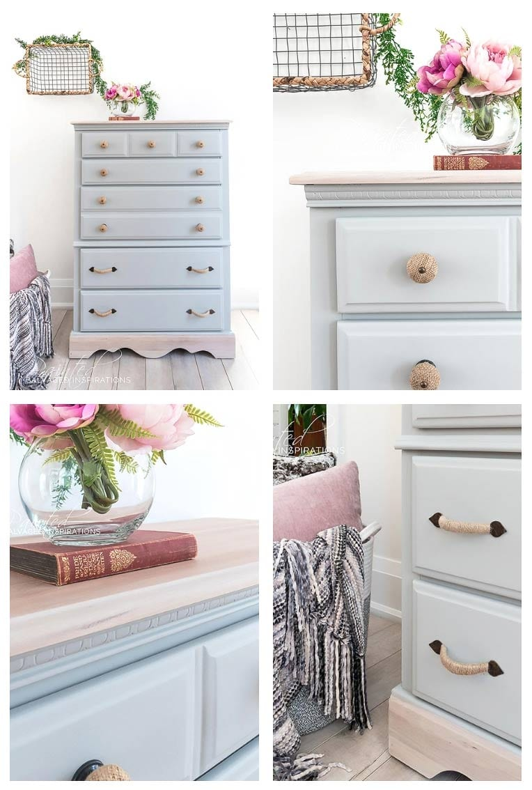 DIY Dressser Makeover w Curbshopped Tallboy
