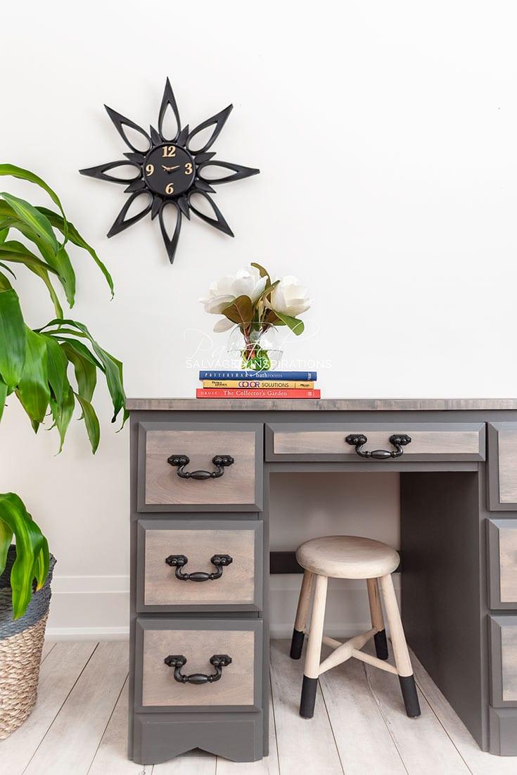 Old Desk Makeover - Salvaged Inspirations