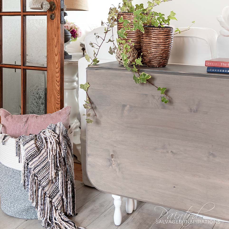 Restoration Hardware Vintage Gateleg Table Makeover