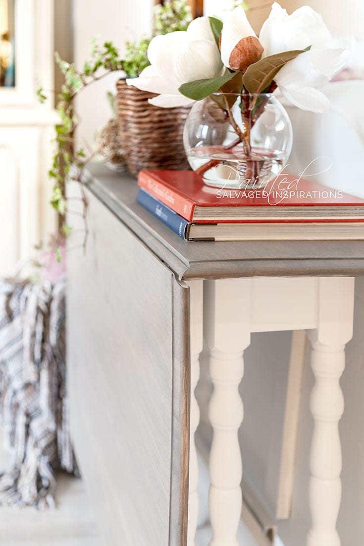 Vintage Drop Leaf Table Makeover