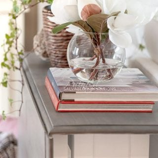 Weathered Gray Gateleg Table Makeover