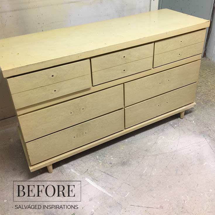 Antique Apothecary Cabinet Dresser Makeover