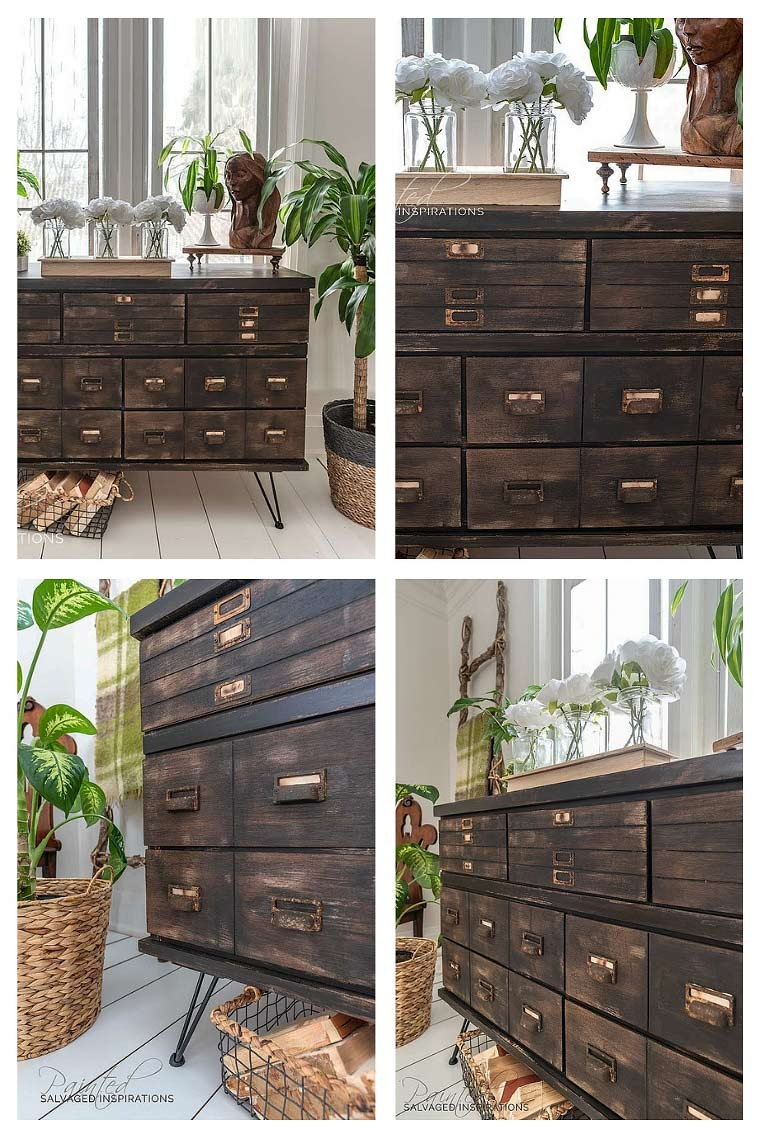 How To Create Faux Drawers On Furniture - Apothecary CabinetIG