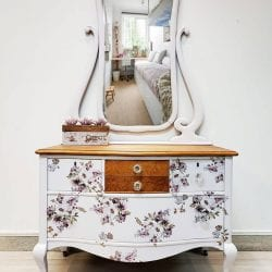 Flipping fabulous Dresser featured on Salvaged Inspirations