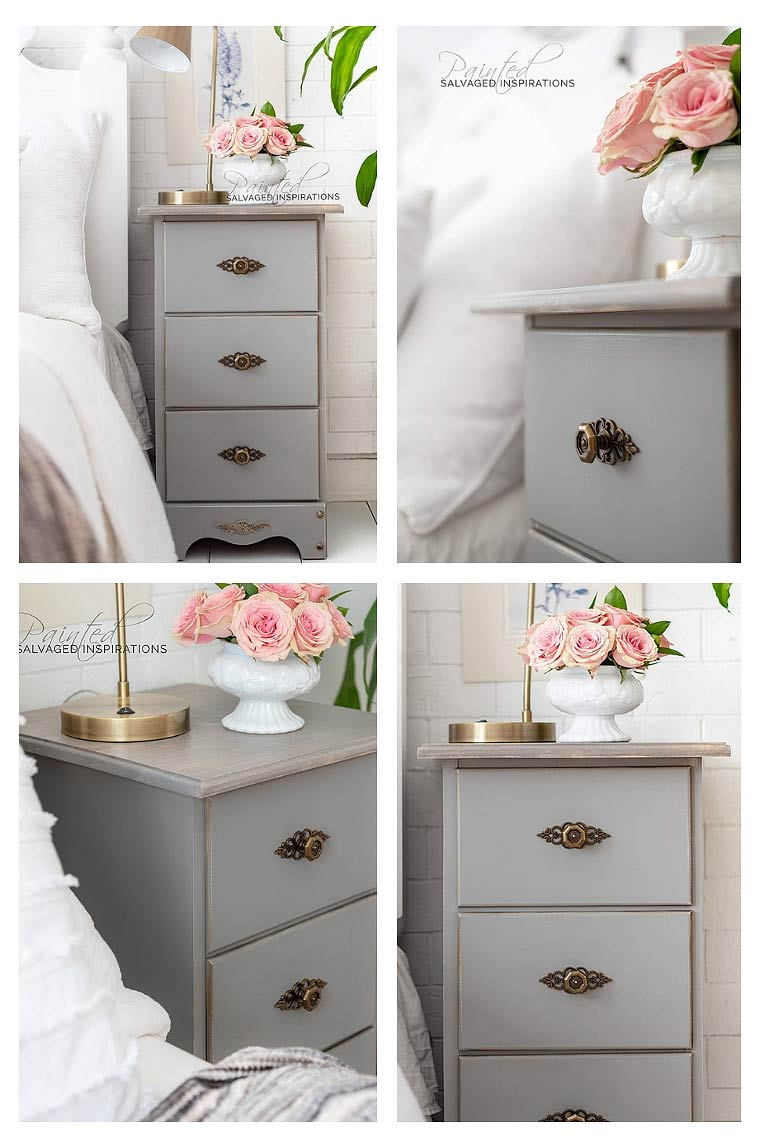Painted Night Stand Makeover