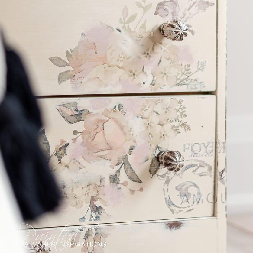 Vintage Flip Writing Desk Dresser IG