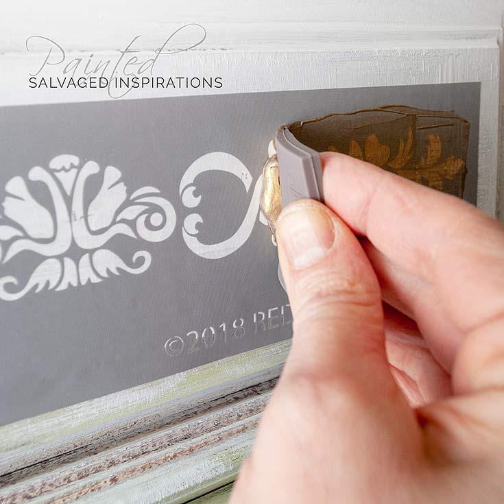 Adhesive SilkScreen Stencil