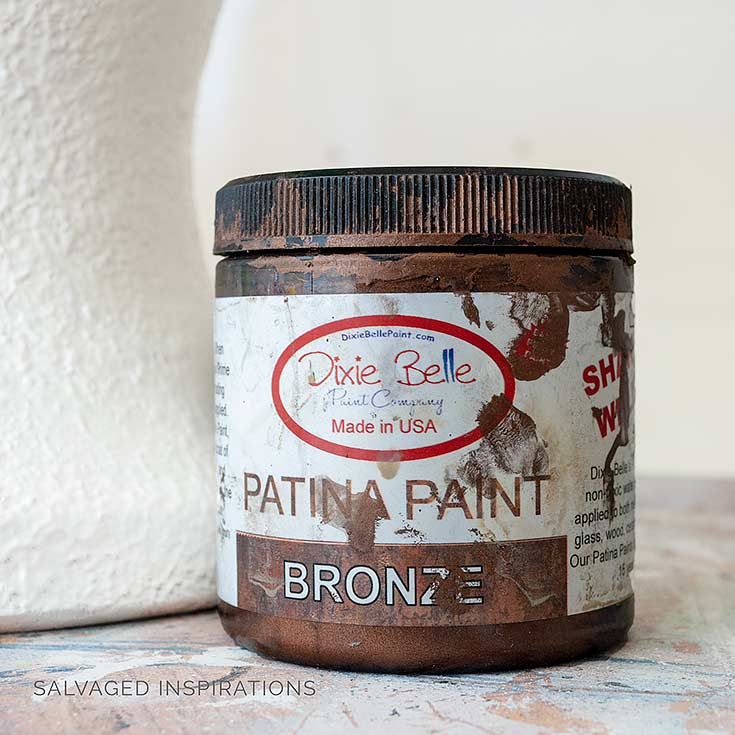 Dixie Belle Bronze Patina Paint