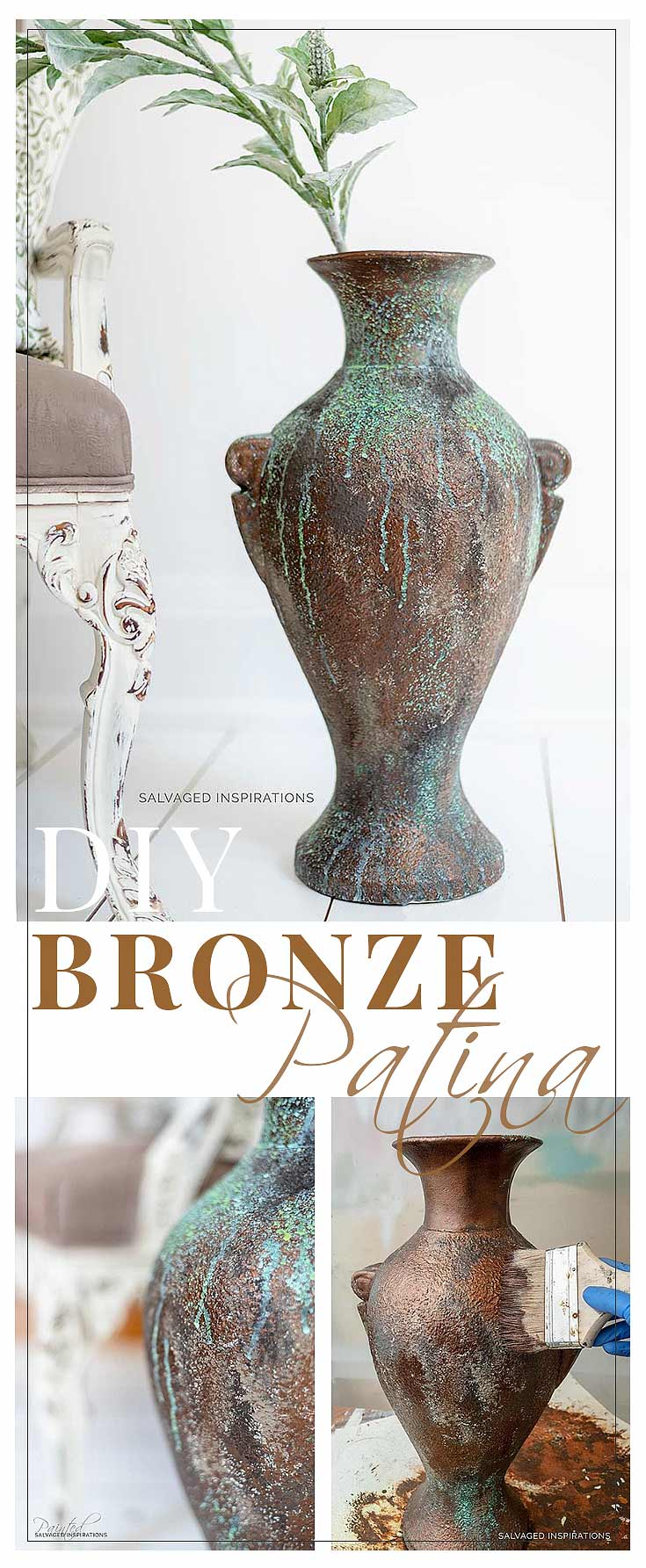 Diy Bronze Patina - Patina Paint Finish