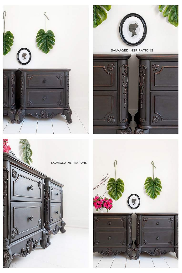 Painted NightStands - Coffee Bean Style