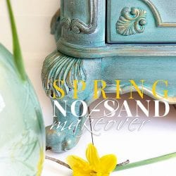 Spring NO SAND Dresser Makeover