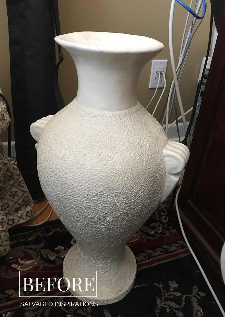 Thrift Vase before pic