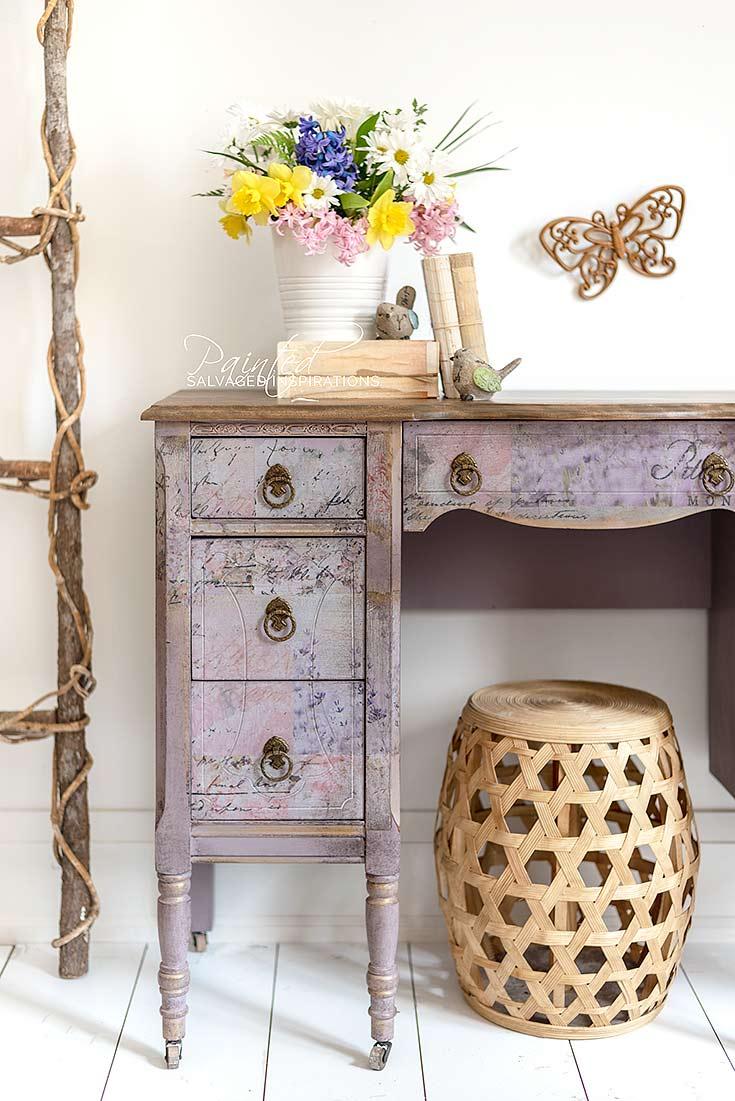 Best Sander for Furniture Refinishing Vintage Desk Makeover
