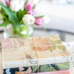 Book Decor for Painted Furniture Styling