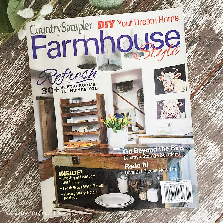 Country Sampler Farmhouse Style Mag Feature Apr2019