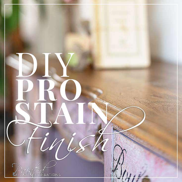 DIY Wood Stain Finish w Orbital Sander and Gel Stain