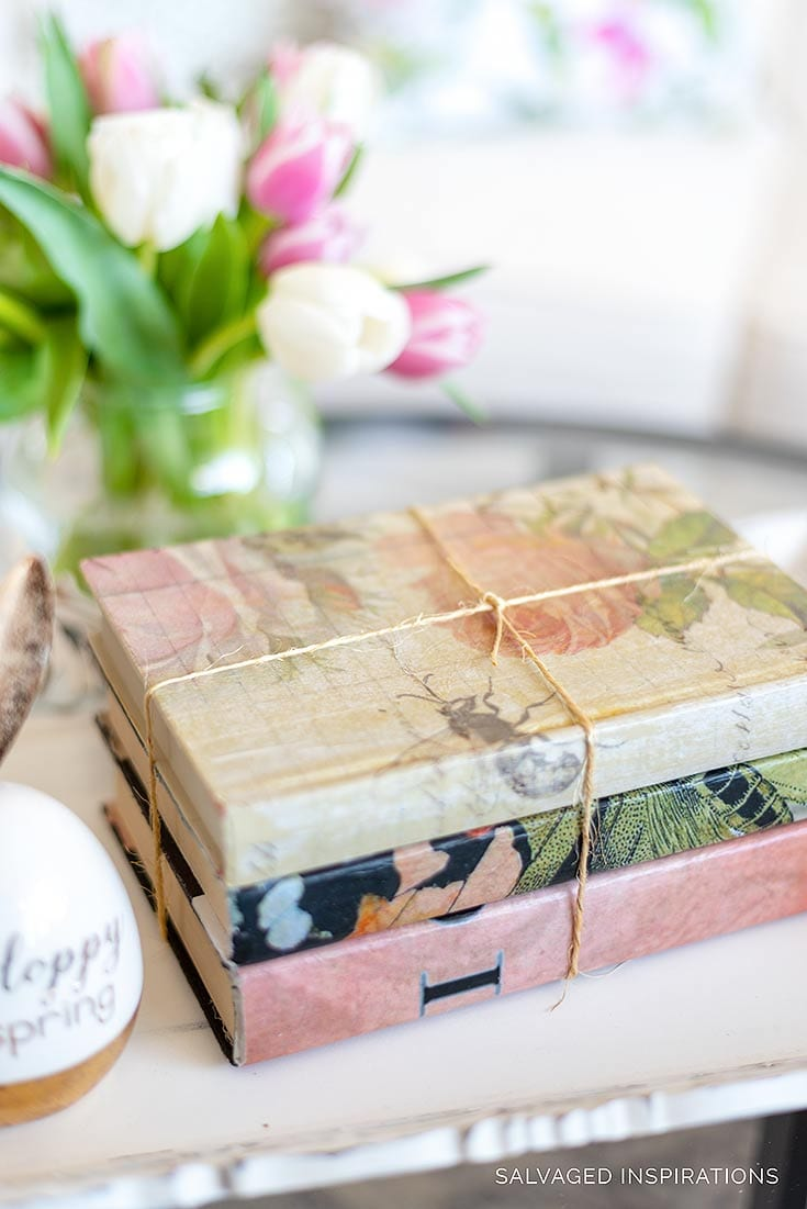 Decorative Book Bundles for Styling