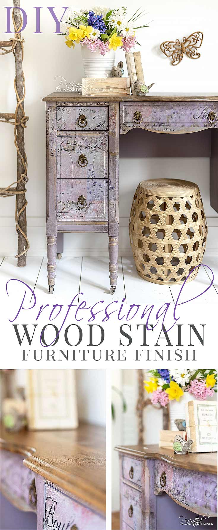 How To Get A Professional Stain Finish - Best Sander + Gel Stain