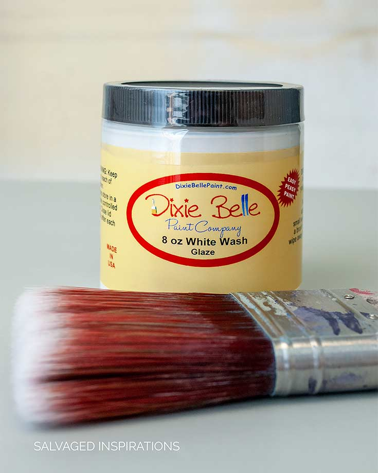 Dixie Belles White Glaze w Brush