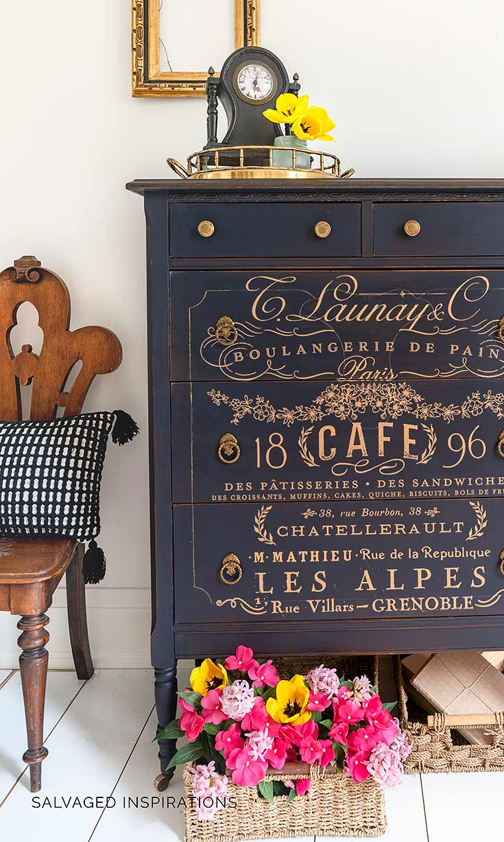 Rub On Transfers For Furniture French Gold