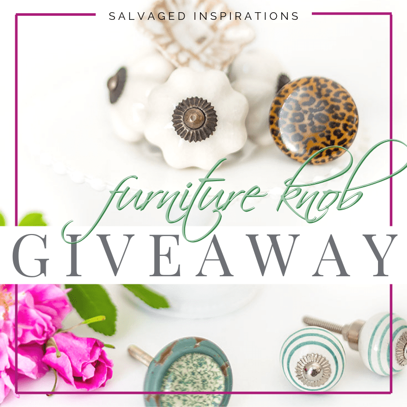 Furniture Knobs Giveaway