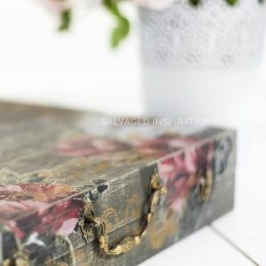 ReDesign With Prima Stencilled Wood Box